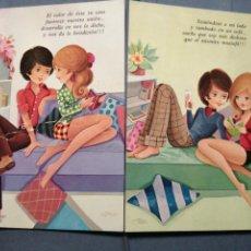 Postales: LOTE 4 POSTALES COLECCIÓN CYZ 7680/29C-D. Lote 234430320