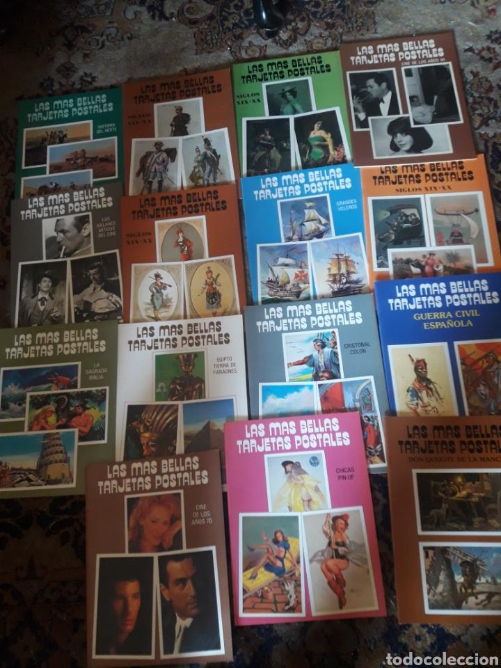 LOTE DE 15 ÁLBUMNES, LAS MÁS BELLAS TARJETAS POSTALES, DIFERENTES, 24 POSTALES CADA ÁLBUM (Postales - Dibujos y Caricaturas)