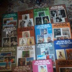 Postales: LOTE DE 15 ÁLBUMNES, LAS MÁS BELLAS TARJETAS POSTALES, DIFERENTES, 24 POSTALES CADA ÁLBUM. Lote 235468525