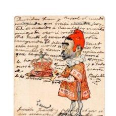 Postales: CARICATURA DE CANALEJAS, PARTIDO LIBERAL.. Lote 235600555