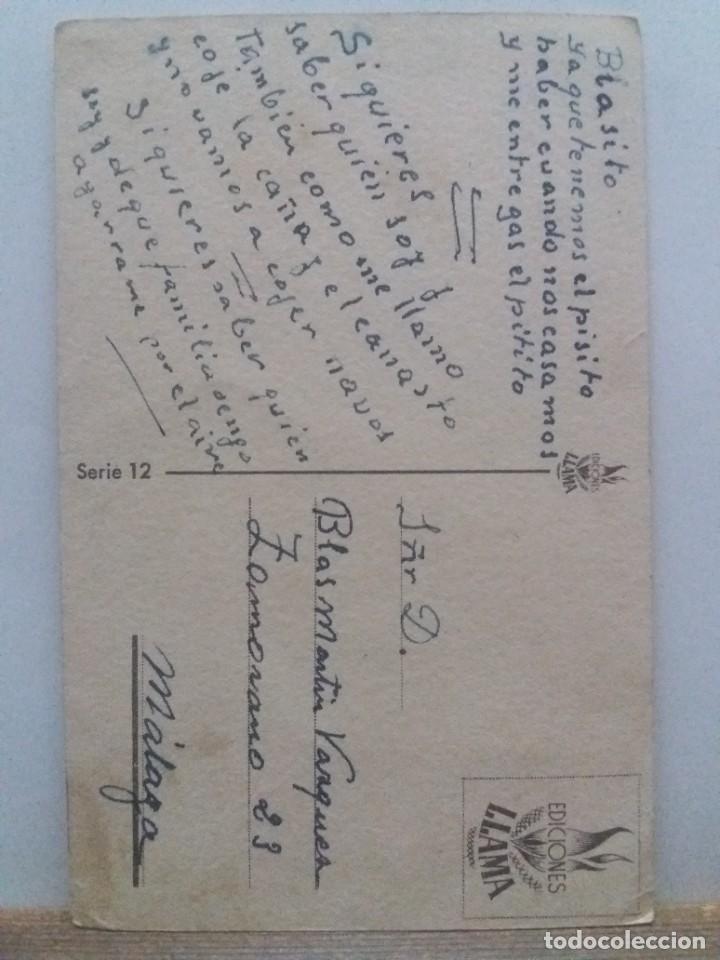 Postales: Postal Ediciones Llama serie 12 - Foto 2 - 236967035