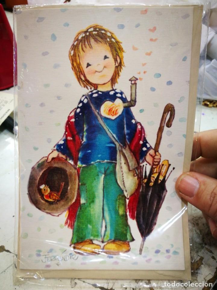 POSTAL FERRANDIZ PRECINTADA CON SOBRE (Postales - Dibujos y Caricaturas)