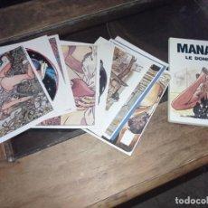 Postales: LOTE 15 POSTALES MANARA LE DONNINE EN SU CARPETA. GRUPPO LO VECCHIO . REF, UR EST. Lote 239601810