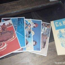 Postales: CARPETA CON 6 POSTALES CLARKE Y KUBRICK NORMA EDITORIAL 1985 REF, UR EST. Lote 239603240