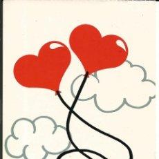 Cartoline: POSTAL ROMANTICA *CORAZONES AL VIENTO* - ED. CM 1989. Lote 241057500