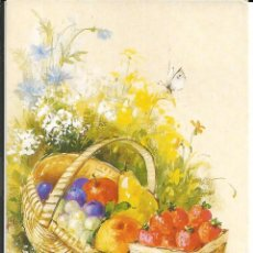 Cartoline: POSTAL *CESTO DE FRUTAS* - 1989. Lote 241547345
