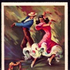 Postales: POSTAL ARTE BAILE ESPAÑOL BULERIAS . TOROS EDICIONES C Y Z 516/A. Lote 243866425