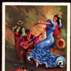 Postales: POSTAL ARTE BAILE ESPAÑOL ZAPATEADO . TOROS EDICIONES C Y Z 516/A. Lote 243867110