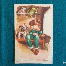 Postales: POSTAL DIBUJO DE MARIELO SERIE 54. Lote 243893395