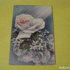 Postales: POSTAL DE IL. C. VIVES. FLORES. ED. C. Y Z. 511/B. ESCRITA 1959.. Lote 243896380