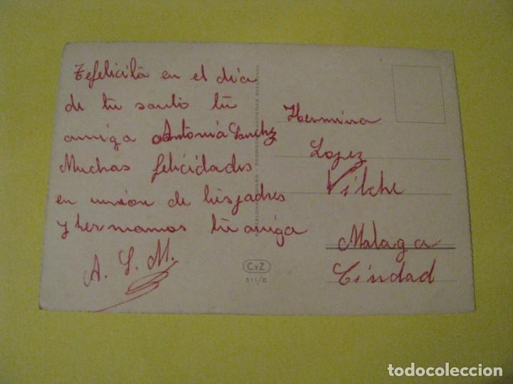 Postales: POSTAL DE IL. C. VIVES. FLORES. ED. C. Y Z. 511/B. ESCRITA. - Foto 2 - 243896495