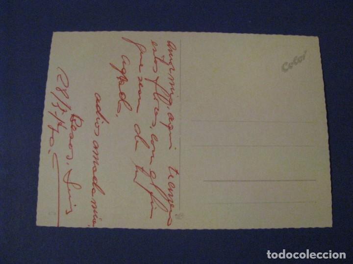 Postales: POSTAL ED. J.L.M. ALEMANIA. FLORES. ESCRITA. 1970. - Foto 2 - 243905640