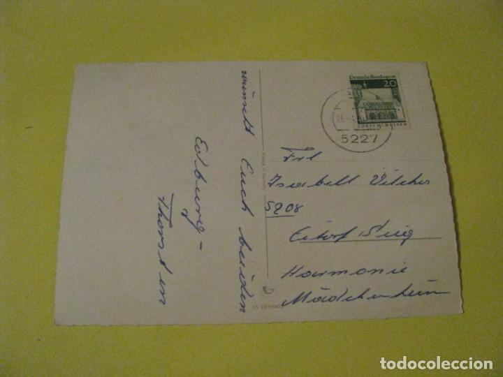 Postales: POSTAL DE ALEMANIA. FELICES PASCUAS. CIRCULADA 1970. - Foto 2 - 243905845
