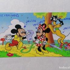 Postales: POSTAL DIBUJO, MICKEY MOUSE, PUBLICIDAD NESTLE, ESCRITA. Lote 244556170