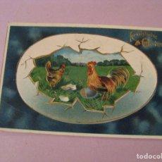 Postales: ANTIGUA POSTAL DE ALEMANIA. FROHLICHE OSTERN. FELICES PASCUAS. CIRCULADA 1909.. Lote 245093580