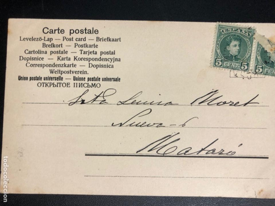 Postales: Tarjeta postal dibujo holandeses lechera - Foto 2 - 245311730
