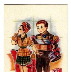 """Postales: EDICIONES TRIO- SERIE 75 - """"RUINA DE LOS PRETENDIENTES SON LAS NOVIAS EXIGENTES"""" 133X83 - PLANCHA. Lote 245354440"""