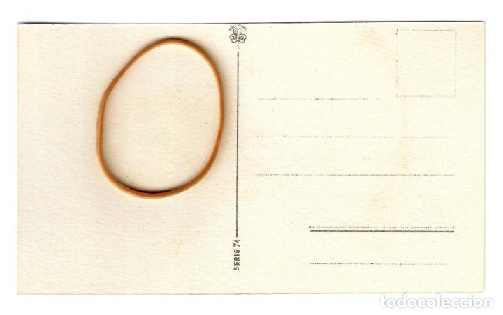 """Postales: Ediciones TRIO- Serie 74 - """"Niña Lupe y Juan Silverio, o la Radio y su misterio"""" 133x83 - Plancha - Foto 2 - 245356815"""