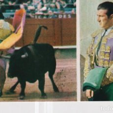 Postales: POSTAL DE TOROS FOTOS DE CARRETERO TORERO ANTONIO ORDOÑEZ Nº 204 SIN CIRCULAR. Lote 245562150