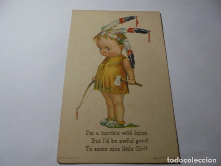 MAGNIFICAS 8 POSTALES ANTIGUAS DE PRINCIPIOS DE 1900 TODAS DELA MISMA EDITORIAL (Postales - Dibujos y Caricaturas)