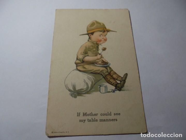 Postales: magnificas 8 postales antiguas de principios de 1900 todas dela misma editorial - Foto 2 - 246319550