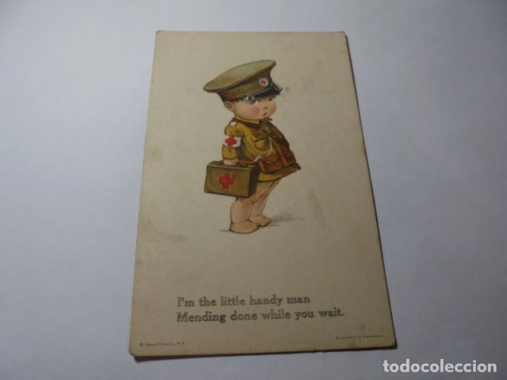 Postales: magnificas 8 postales antiguas de principios de 1900 todas dela misma editorial - Foto 4 - 246319550
