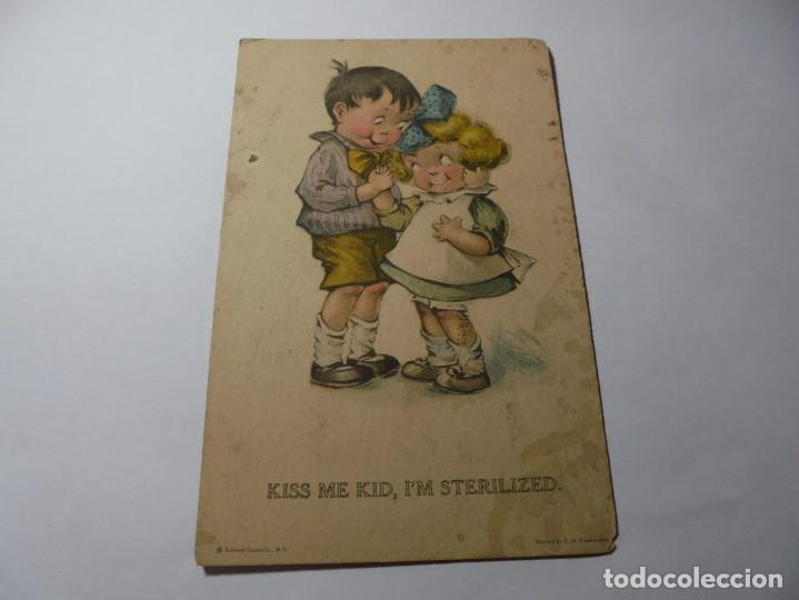 Postales: magnificas 8 postales antiguas de principios de 1900 todas dela misma editorial - Foto 5 - 246319550