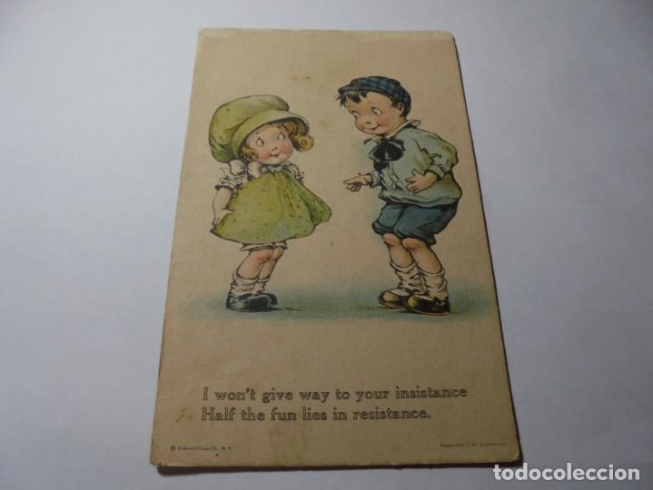 Postales: magnificas 8 postales antiguas de principios de 1900 todas dela misma editorial - Foto 7 - 246319550