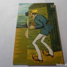 Postales: MAGNIFICA ANTIGUA POSTAL DE MOVIMIENTO. Lote 247664970