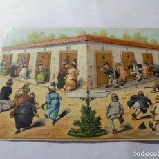 Postales: MAGNIFICA ANTIGUA POSTAL DE MOVIMIENTO. Lote 247665310