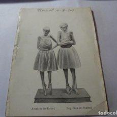 Postales: MAGNIFICA ANTIGUA POSTAL DEL 1909 AMANTES DE TERUEL,IMPRENTA DE PERRUCA. Lote 247665850