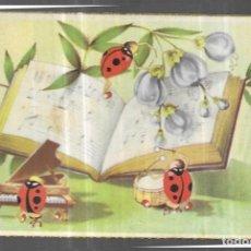 Postales: POSTAL * MARIQUITAS TOCANDO MÚSICA * AÑO 1953. Lote 247718095