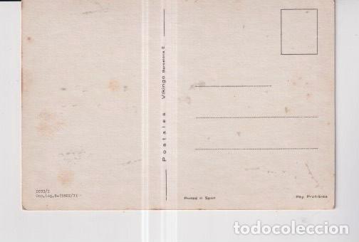 Postales: postal de dibujos de si nombre la casa vikingo sin escribir - Foto 2 - 248001035