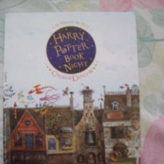 Postales: POSTAL HARRY POTTER BOOK NIGHT CALLEJON DIAGON EDICIONES SALAMANDRA. Lote 264133330