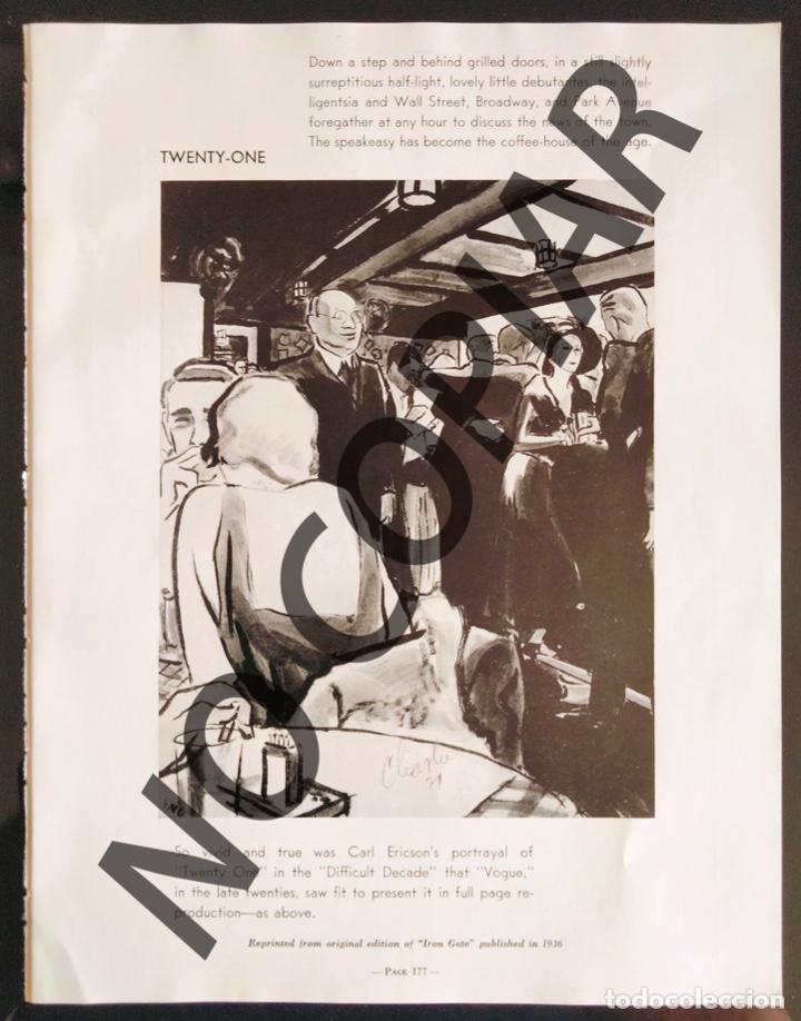 ILUSTRACIÓN DE CARL ERICKSON. ILUSTRACIÓN EXTRAÍDA DE LIBRO CONMEMORATIVO. USA. AÑO 1950. (Postales - Dibujos y Caricaturas)