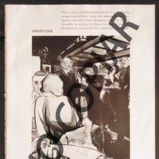 Postales: ILUSTRACIÓN DE CARL ERICKSON. ILUSTRACIÓN EXTRAÍDA DE LIBRO CONMEMORATIVO. USA. AÑO 1950.. Lote 254176795
