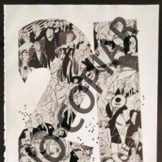 Postales: ILUSTRACIÓN DE R. PATTERSON. ILUSTRACIÓN EXTRAÍDA LIBRO CONMEMORATIVO. USA. AÑO 1950.. Lote 254178455