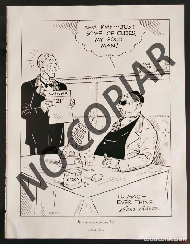 ILUSTRACIÓN CÓMICA DE GENE AHERN. ILUSTRACIÓN EXTRAÍDA LIBRO CONMEMORATIVO. USA. AÑO 1950. (Postales - Dibujos y Caricaturas)