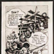 Postales: ILUSTRACIÓN CÓMICA DE FRED LASSWELL. ILUSTRACIÓN EXTRAÍDA LIBRO CONMEMORATIVO. USA. AÑO 1950.. Lote 254179695
