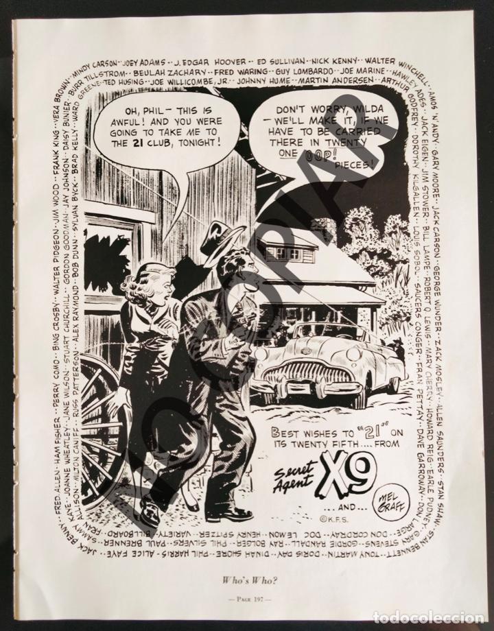 ILUSTRACIÓN CÓMICA DE MEL GRAFF. ILUSTRACIÓN EXTRAÍDA LIBRO CONMEMORATIVO. USA. AÑO 1950. (Postales - Dibujos y Caricaturas)