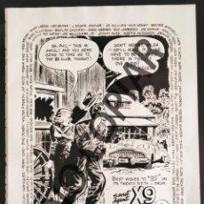 Postales: ILUSTRACIÓN CÓMICA DE MEL GRAFF. ILUSTRACIÓN EXTRAÍDA LIBRO CONMEMORATIVO. USA. AÑO 1950.. Lote 254180875