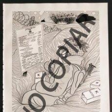 Postales: ILUSTRACIÓN CÓMICA DE DAVE BREGER. ILUSTRACIÓN EXTRAÍDA LIBRO CONMEMORATIVO. USA. AÑO 1950.. Lote 254181045