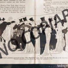 Postales: ILUSTRACIÓN CÓMICA DE RUSSELL PATTERSON. ILUSTRACIÓN EXTRAÍDA LIBRO CONMEMORATIVO. USA. AÑO 1950.. Lote 254181745