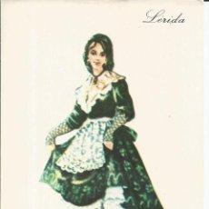 Postales: POSTAL TRAJE REGIONAL *LERIDA* - PUBLICIDAD PRONITOL - 1974. Lote 254989130
