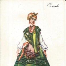 Postales: POSTAL TRAJE REGIONAL *OVIEDO* - PUBLICIDAD PRONITOL - 1973. Lote 254992980