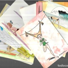 Postales: 24 POSTALES * PICANYOL , SERIE IOGA * ( DEL Nº1 AL 24) 1977. Lote 255000655