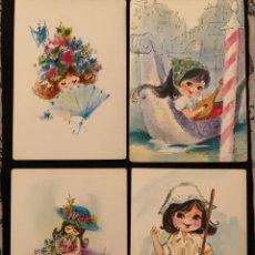 Postales: POSTALES INFANTILES, AÑOS 70. Lote 255015095