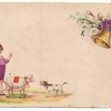 Postales: POSTAL DIBUJO CARICATURA NIÑOS NAVIDEÑA ED AMAG Nº 2095 AÑO 1940. Lote 255394145