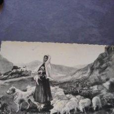 Postales: POSTAL TROQUELADA SANTA BERNARDETTE(391). Lote 255397735