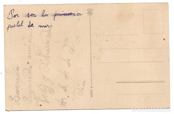 Postales: POSTAL DIBUJO CARICATURA NIÑOS ILUSTRADA TRIO ED TREBOL SERIE X - Foto 2 - 257398955